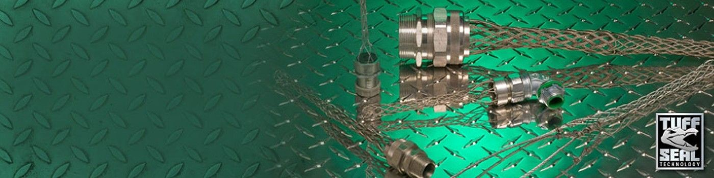 Wire Mesh Grips for Cable Strain Relief