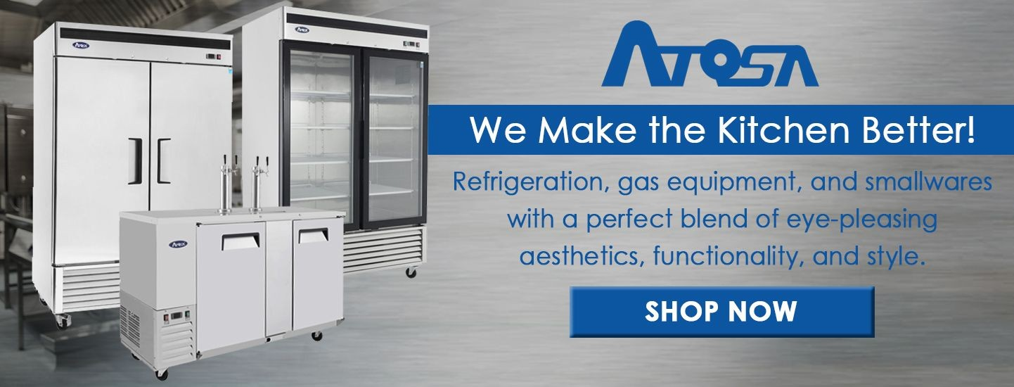 Shop Atosa's affordable foodservice equipment here!
