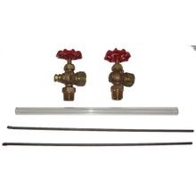 1/2 WATER GAUGE SET (GLASS)