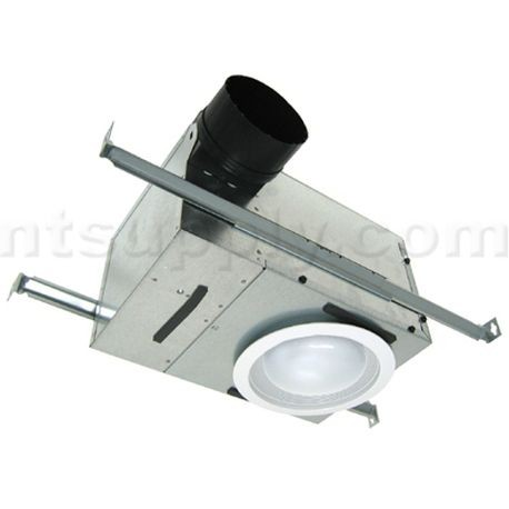 broan bathroom light fan combo broan ventilation fan light combination 70 cfm 2 sones 22813
