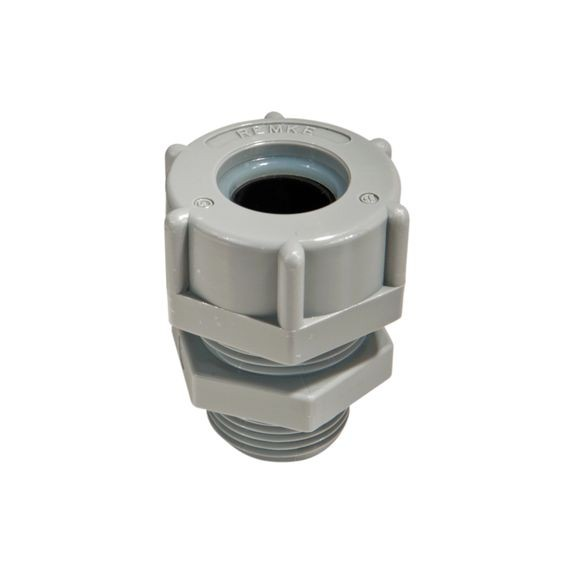 "Cord Connector, nylon, 3/8"" NPT, cable range .250 - .312"