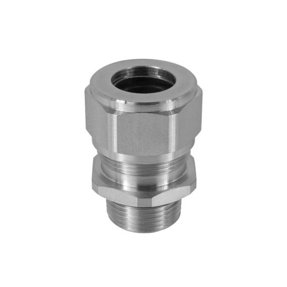 "Cord Connector, SS, 1/2"" NPT, cable range .188 - .250"